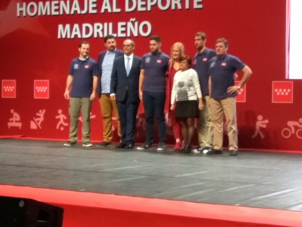 Homenaje al Deporte Madrileño