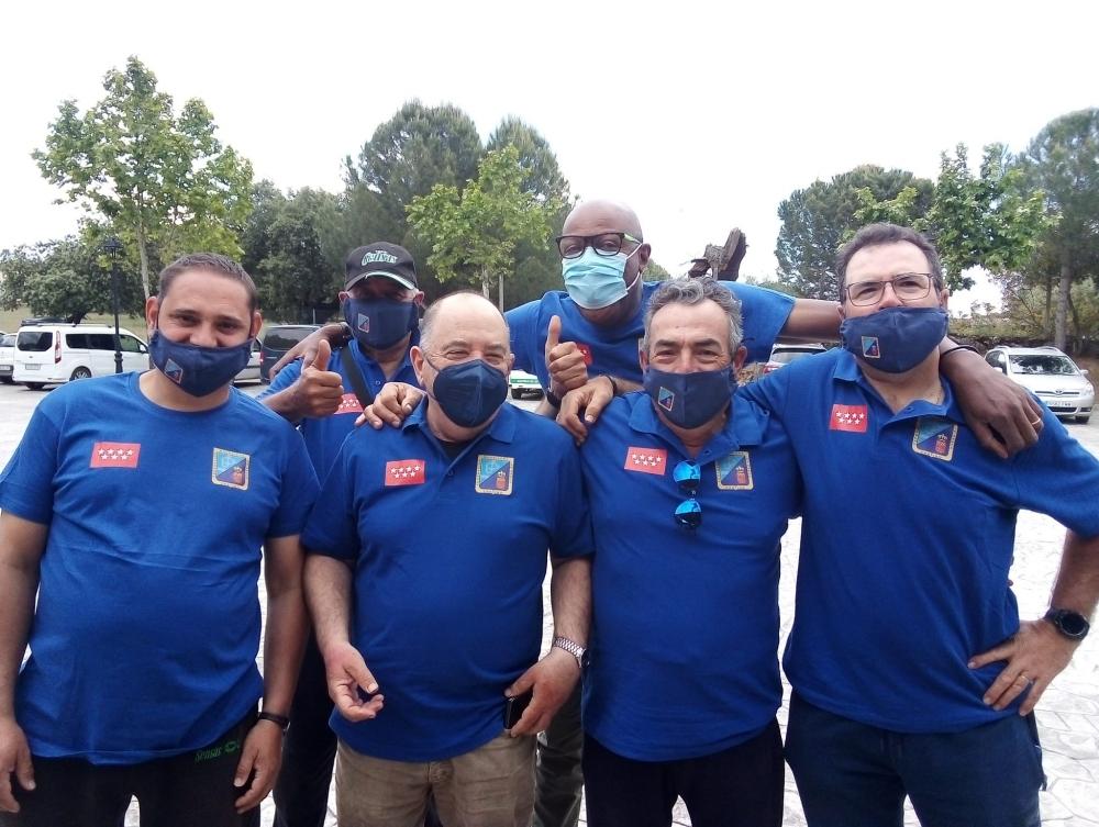 Los representantes de la FMPYC en el Cto., España +55 Master Feeder